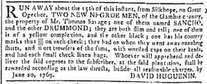 Jul 12 - Georgia Gazette Slavery 5