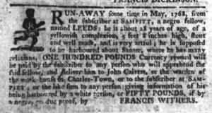 Jul 13 - South-Carolina Gazette Slavery 6