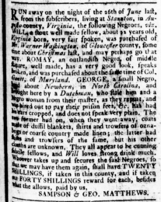 Jul 13 - Virginia Gazette Rind Slavery 2