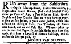 Jul 24 - New-York Gazette Weekly Mercury Slavery 5