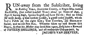Jul 24 - New-York Gazette Weekly Post-Boy Supplement Slavery 1