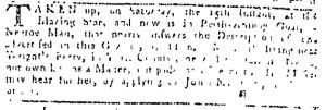 Jul 27 - Pennsylvania Gazette Slavery 1