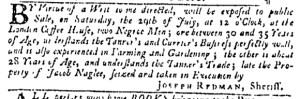 Jul 27 - Pennsylvania Gazette Slavery 2