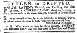 Jul 27 - South-Carolina Gazette Slavery 3
