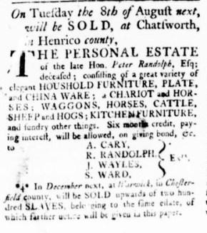 Jul 27 - Virginia Gazette Rind Slavery 5