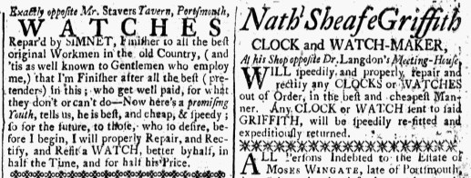 Aug 18 - 8:18:1769 New-Hampshire Gazette