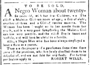 Aug 23 - South-Carolina and American General Gazette Slavery 3