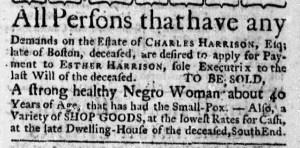 Aug 24 - Massachusetts Gazette Draper Slavery 1