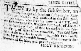 Aug 24 - Virginia Gazette Rind Slavery 4