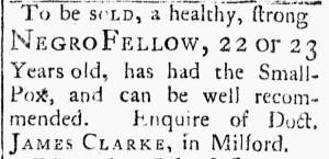 Aug 25 - Connecticut Journal Slavery 1