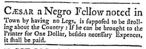 Sep 18 - Massachusetts Gazette Green and Russell Slavery 1