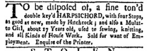 Sep 18 - New-York Gazette and Weekly Mercury Slavery 3