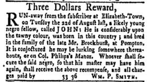 Sep 18 - New-York Gazette and Weekly Mercury Slavery 7