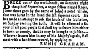 Sep 18 - New-York Gazette and Weekly Mercury Slavery 8