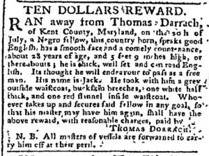 Sep 18 - Pennsylvania Chronicle Slavery 1