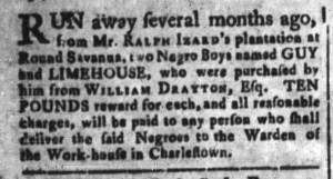 Sep 18 - South-Carolina and American General Gazette Slavery 3