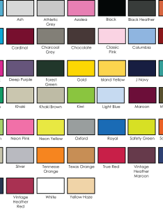 also jerzees  shirts color chart rh fzautomotive