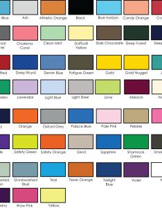 Color chart also hanes oz tagless tee  adver  screen printing rh advertscreenprinting