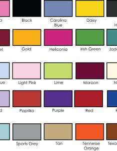 Color chart also gildan  dry blend oz tee  adver  screen printing rh advertscreenprinting