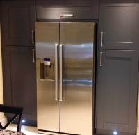How do I box in an American Fridge/Freezer? - DIY Kitchens ...