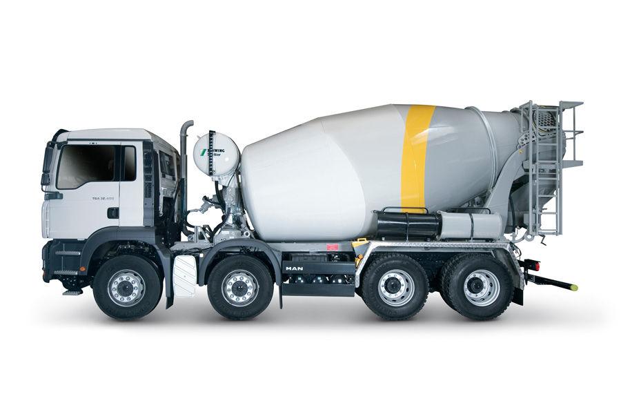 concrete trucks mixers and