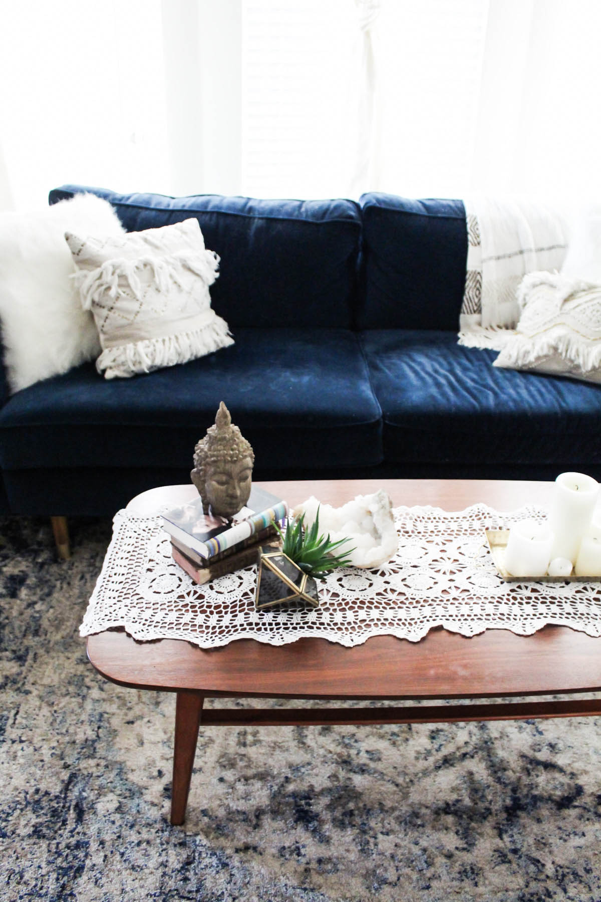 urban outfitters chair stretch covers ireland 3 ways to style a coffee table  advice from twenty