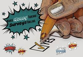 how to earn money from home by paid online surveys
