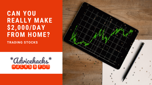 Can You Really Make $2000 per Day From Home