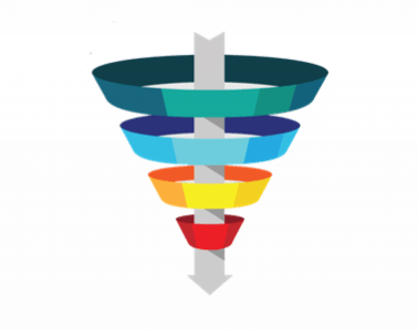 Conversions funnel
