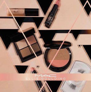 ellie goulding makeup collection collage
