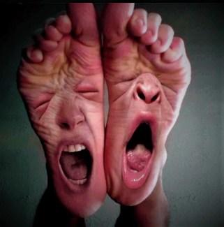 screaming feet