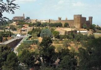 the village of montalcino italy