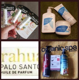 organix skincare products from oprganic spa magazine event
