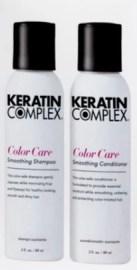 keratin complex shampoo and conditioner stock photo