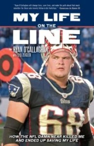 amazon book cover my line on the line by Ryan O Callaghan