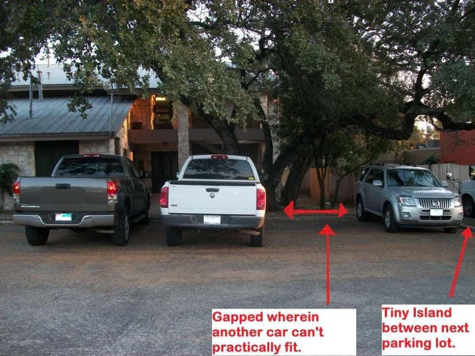 tactical car parking