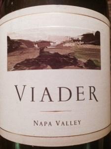 Viader Wine Label