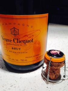 Veuve bottle cork