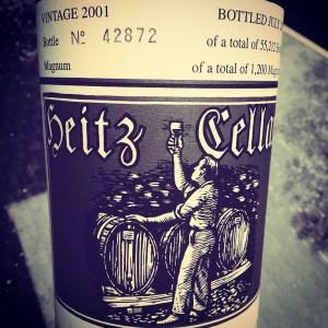 2001 Heitz Cellars Cabernet Sauvignon