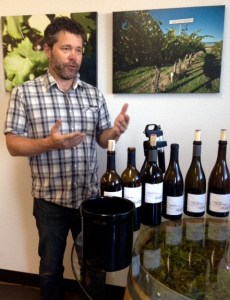 Avennia Winemaker Chris Peterson