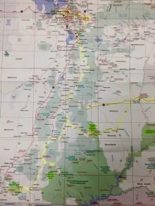 Map of Utah