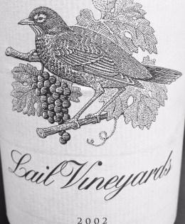 2002 Lail Vineyards J. Daniel Cuvée Cabernet Sauvignon