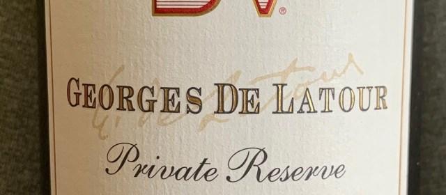 Beaulieu Georges de Latour Private Reserve Cabernet Sauvignon: Napa's Legend Begins