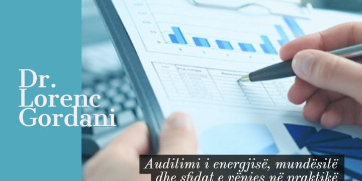 Auditimi i energjisë, mundësitë dhe sfidat e vënies në praktikë