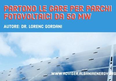 Partono le gare per parchi fotovoltaici da 50 MW