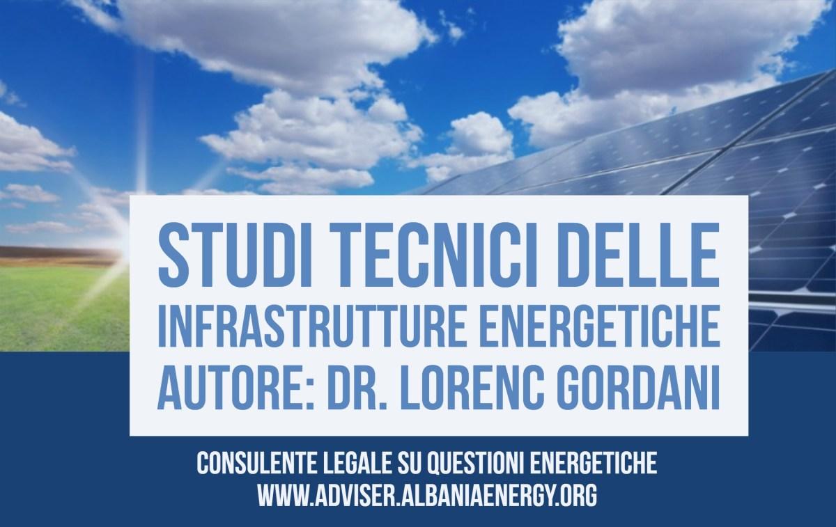 Studi tecnici delle infrastrutture energetiche