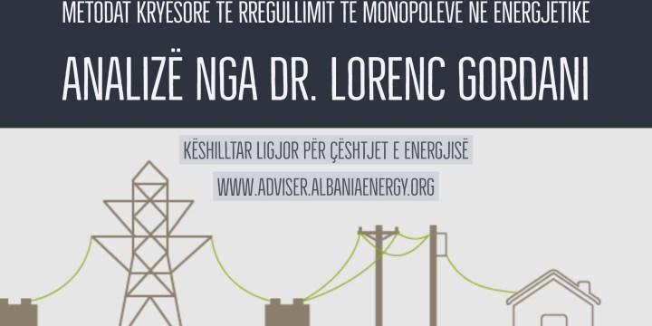 Metodologjitë kryesore të shpërblimit në monopolet në energjetik