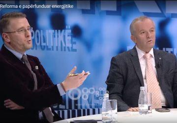 Ekopolitikë; Reforma e Papërfunduar Energjetike; Tregu shqiptar i energjisë; proces ristrukturimi; bursës së energjisë; procesit të rimëkëmbjes; planit strategjik për reformimin e sektorit; tregu; modelin e gabuar të biznesit; faze tranzitore; Bardhi Sejdarasi; Pano Soko; Mërgim Bylberi.
