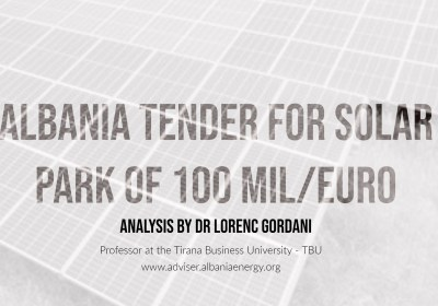Albania launches tender for Euro 100 Million Solar Park