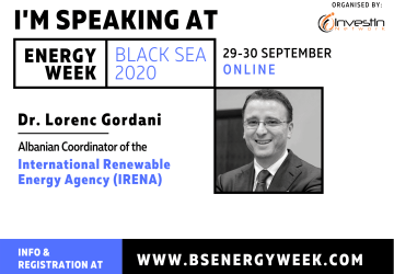 Energy Week Black Sea 2020 Summit energy community; renewable energy potential; Black Sea countries; investment conference; IFIs/DFIs; multinational energy companies; Energy Development Fund; National Energy and Utilities Regulatory Commission; Tirana Business university (TBU), Albania; Solar Energy Investors.